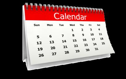 2019/2020 Academic Calendar